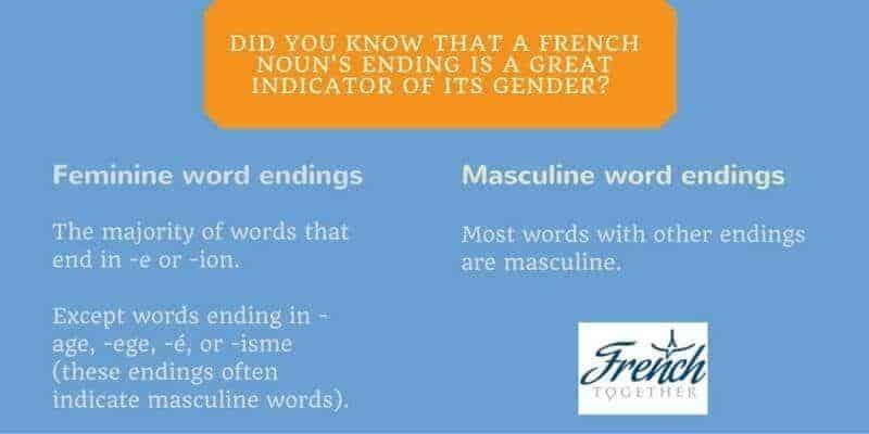 How To Know The Gender Of French Nouns With 80 Accuracy