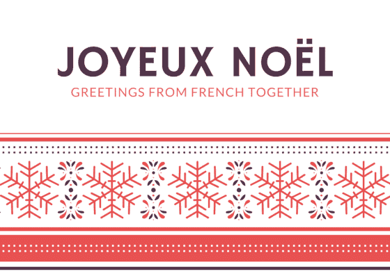 "How to Say ""Merry Christmas"" in French?"
