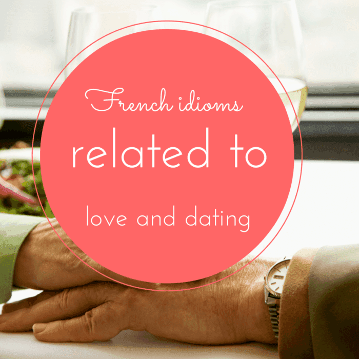 French love idioms