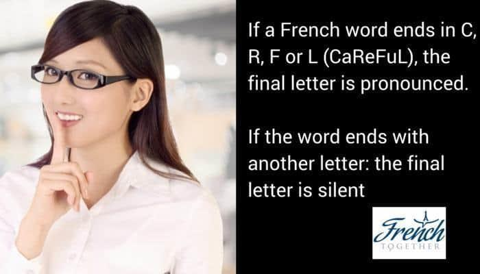 final French letter pronunciation