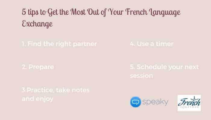 How to Get the Most Out of Your French Language Exchange