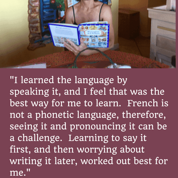 French Learner Interview Series: Debby on Immersion and Speaking from Day One