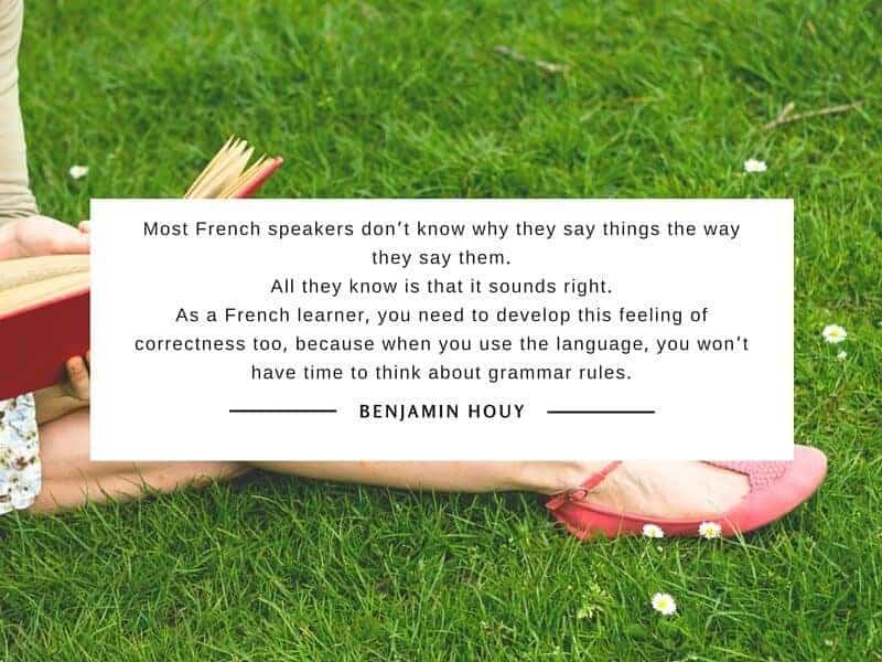 reading French