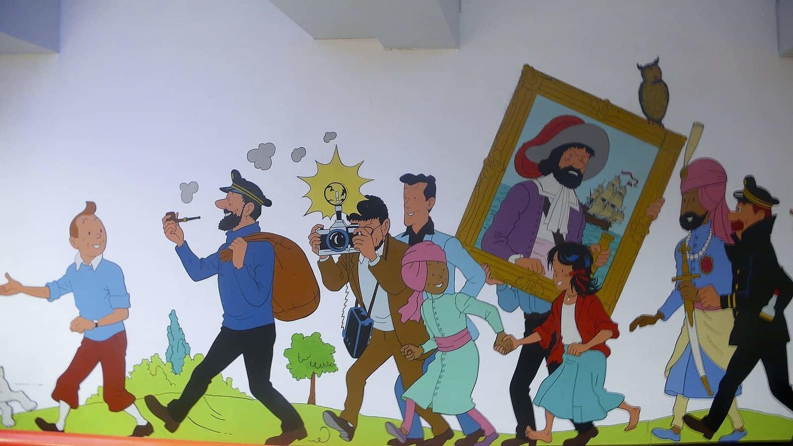 French comic Tintin