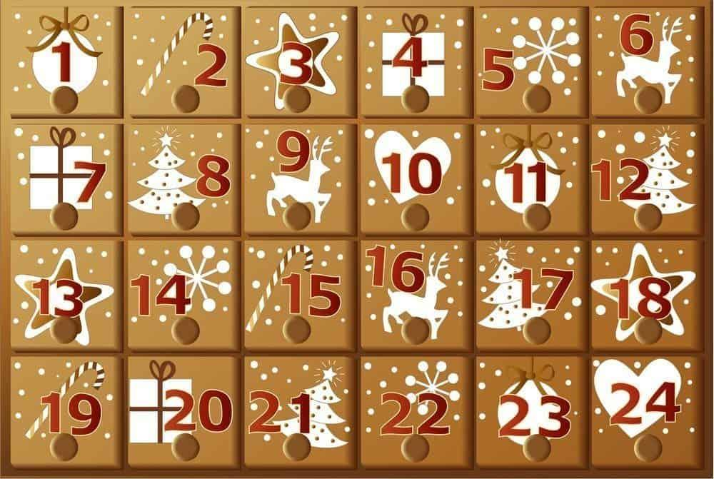 French advent calendar