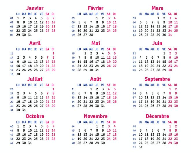 French calendar months