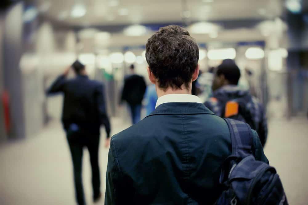 People in the métro