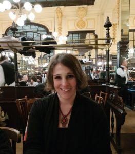 Alysa Salzberg at Le Bouillon Chartier