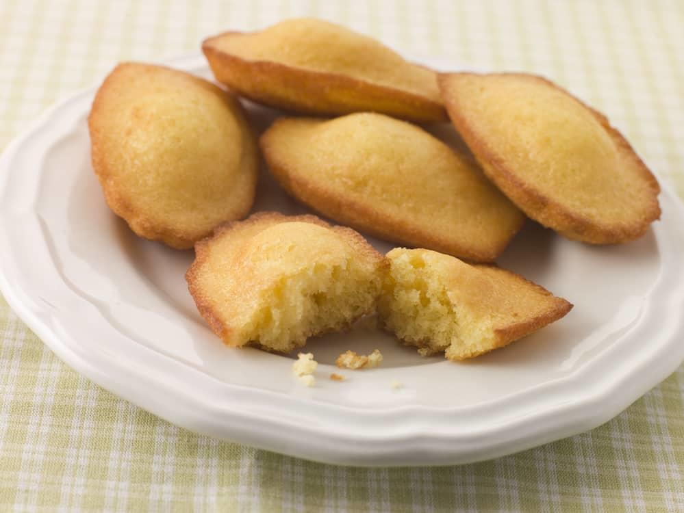 French madeleine cookies